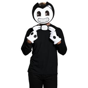 Bendy Classic Black and White Adult Costume Kit