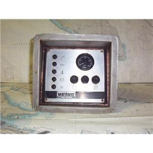 Boaters' Resale Shop of TX 1307 0157.07 VETUS DIESEL CONTROL PANEL ASSEMBLY