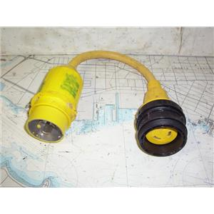 Boaters' Resale Shop of TX 2003 2724.07 MARINCO 110A PIGTAL ADAPTER 50A125 - 30A