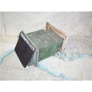 Boaters' Resale Shop of TX 1711 1745.02 CHROME COCKPIT SCUPPER ASSEMBLY