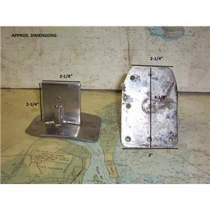 Boaters' Resale Shop of TX 1804 2771.11 PAIR OF SPREADER BRACKETS
