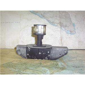 """Boaters' Resale Shop of TX 1807 2751.04 MAST 10"""" SHEAVE CAP WITH LIGHT FIXTURE"""