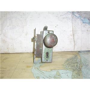 Boaters' Resale Shop of TX 2004 4251.44 VINTAGE MARINE DOOR KNOB ASSEMBLY