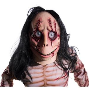 Creepypasta Screen Stalker MoMo Scary Stalker Adult Costume Mask