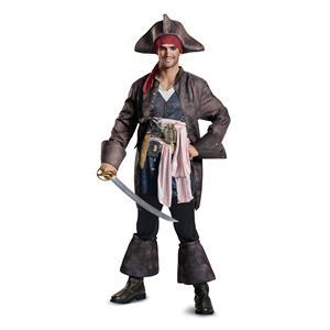 Disguise Men's Captain Jack Sparrow Pirate Costume XL
