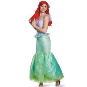 Disguise Little Mermaid Ariel Prestige Costume Adult Small 4-6