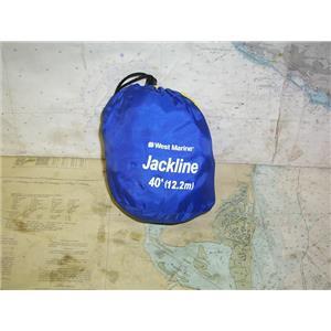 Boaters' Resale Shop of TX 2004 2725.12 WEST MARINE 40 FOOT JACKLINE IN BAG