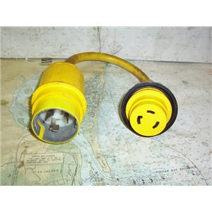 Boaters' Resale Shop of TX 2005 0774.12 MARINCO 110A PIGTAL ADAPTER 50A125-30A