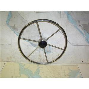 """Boaters' Resale Shop of TX 1905 2422.01 DISHED 18"""" STEERING WHEEL FOR 7/8"""" SHAFT"""