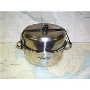 Boaters' Resale Shop of TX 2005 1522.01 MAGMA 18-10 NESTING SS COOKWARE SET
