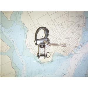 Boaters' Resale Shop of TX 1909 2422.36 SCHAEFER SNAP SHACKLE WITH TACK FITTING