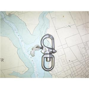 "Boaters' Resale Shop of TX 2005 4251.14 MERRIMAN SNAP SHACKLE W BALE & 1/4"" PIN"