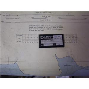 Boaters' Resale Shop of TX 1508 0250.14 C-MAP M-NA-B511.03 CHART CARD GALVESTON