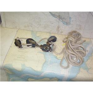 Boaters' Resale Shop of TX 1705 2022.17 MAINSHEET SYSTEM FOR HOBIE 16