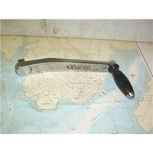 """Boaters' Resale Shop of TX 1901 2721.14 BARIENT 10"""" CHROME PLATED WINCH HANDLE"""