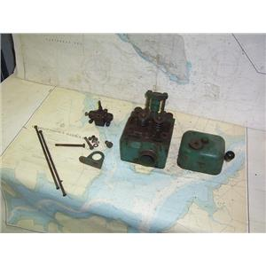 Boaters' Resale Shop of TX 1507 4101.22 VOLVO PENTA MD2 CYLINDER HEAD COMPONENTS