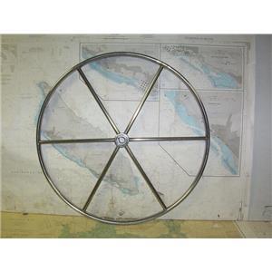 "Boaters' Resale Shop of TX 2006 0571.12 DESTROYER 28"" STEERING WHEEL- 1"" SHAFT"
