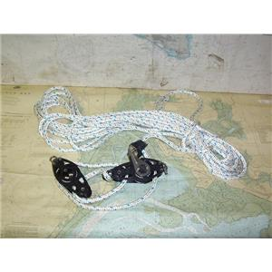 "Boaters' Resale Shop of TX  20088.02 VIADANA 4:1 MAINSHEET VANG WITH 3/8"" LINE"