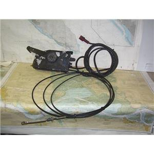 Boaters' Resale Shop of TX 2006 0557.04 SINGLE THROTTLE AND CABLES ASSEMBLY