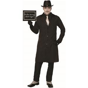 Silent Movie Old Time 1920's Gangster Adult Costume Standard