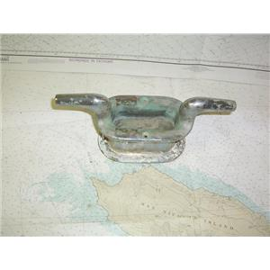 """Boaters' Resale Shop of TX 1912 1427.02 HAWSE PIPE WITH 12"""" CLEAT ASSEMBLY"""