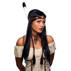 Sexy Native American Indian Pocahontas Wig