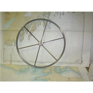 """Boaters' Resale Shop of TX 2007 0754.01 STEERING WHEEL 22"""" FOR 1"""" TAPERED SHAFT"""