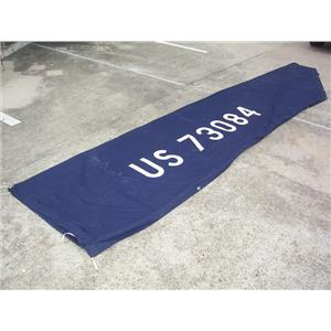 Boaters' Resale Shop of TX 2007 0777.01 NAVY BLUE 3' x 14' MAINSAIL BOOM COVER
