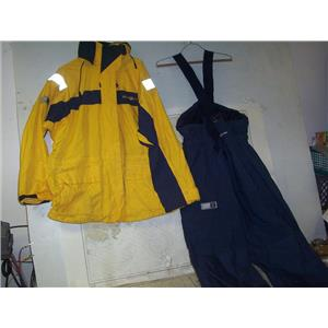 Boaters' Resale Shop of TX 2007 0772.01 HENRI LLOYD LP 141 FOUL WEATHER SUIT TP2