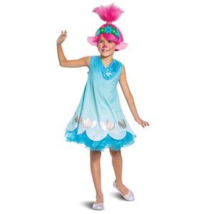Troll Movie 2 Poppy Disney Child Costume Medium 7-8