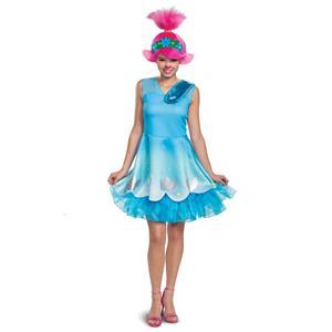 Poppy Trolls 2 World Tour Costume Adult Medium 8-10