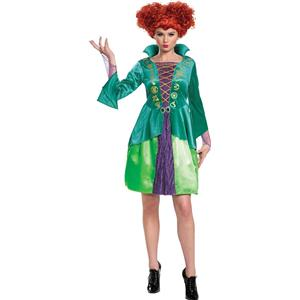 Winifred Sanderson Hocus Pocus Woman Costume Adult Small 4-6