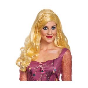 Disney Hocus Pocus Sarah Deluxe Wig Costume Accessory Blonde Adult Size