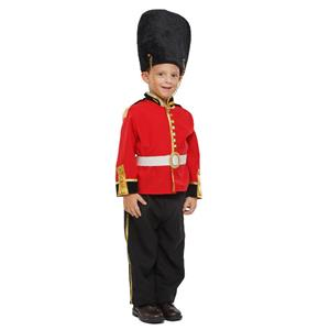 Deluxe Royal British Guard Child's Costume Small 4-6