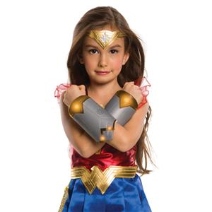 Wonder Woman WW84 Light Up Child Gauntlets Costume Accessory