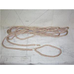 """Boaters' Resale Shop of TX 2009 0447.05 PRE-SPLICED 32 FEET OF 5/8"""" BRAIDED LINE"""