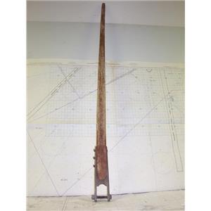 """Boaters' Resale Shop of TX 2008 4104.44 TEAK 56"""" TILLER ASSEMBLY"""