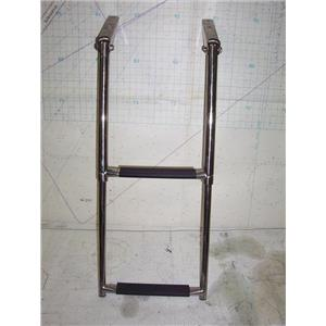 Boaters' Resale Shop of TX 2009 0741.07 TWO STEP TELESCOPING SWIM  LADDER