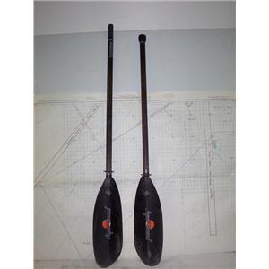 "Boaters' Resale Shop of TX 2009 5101.25 AQUA-BOUND CARBON ABX 93"" KAYAK PADDLE"