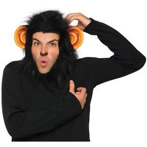 Chimp Monkey Bad Touch Headpiece Hood Costume Accessory