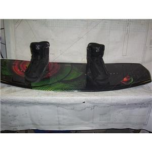 Boaters' Resale Shop of TX 2010 0725.01 HYPERLITE WAKEBOARD WITH RONTX BOOTS