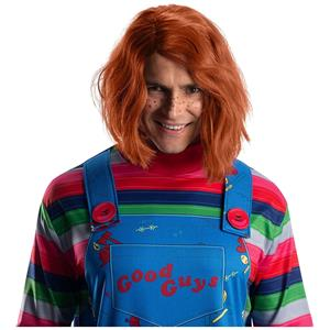 Chucky Doll Child's Play 2 Red Wig Adult