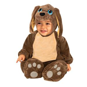 Brown Puppy Jumpsuit Costume Infant 6-12 Months