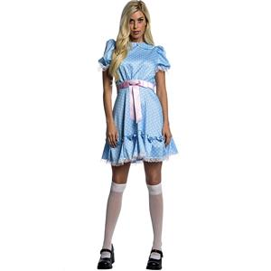 The Shining Twisted Twin Baby Blue Dress Adult Costume Small