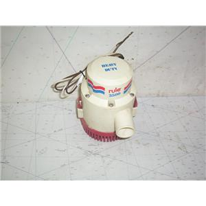 Boaters' Resale Shop Of TX 2011 1447.02 RULE 3500 HEAVY DUTY 12 VOLT BILGE PUMP