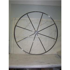 "Boaters' Resale Shop of TX 2011 1422.02 STAINLESS STEEL 42"" STEERING WHEEL"