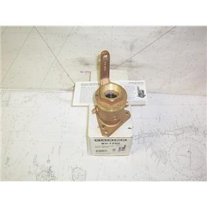 "Boaters' Resale Shop of TX 2012 0222.02 GROCO BV-1250 SEACOCK 1-1/4"" BALL VALVE"