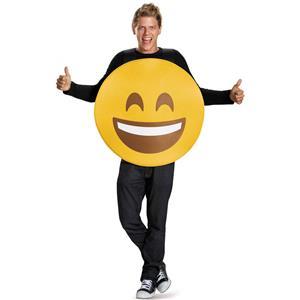 Smile Emoticons Adult Sandwich Halloween Emoji Costume Tunic