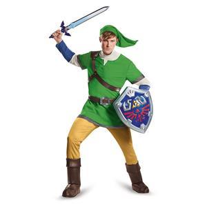 Legend of Zelda Link Deluxe Adult Costume XL 42-46