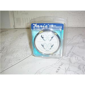 Boaters' Resale Shop of TX 2012 1121.07 FARIA 33851 MARINE 4-IN-1 COMBO GAUGE